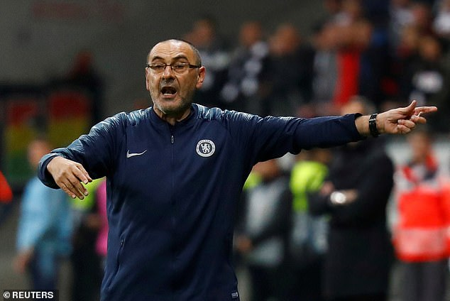 Sarri appeared close to the sack earlier in the campaign before Chelsea's form improved
