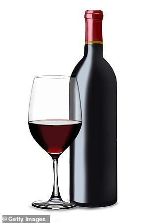Red wine has some medicinal qualities, but can certainly put strain on the liver