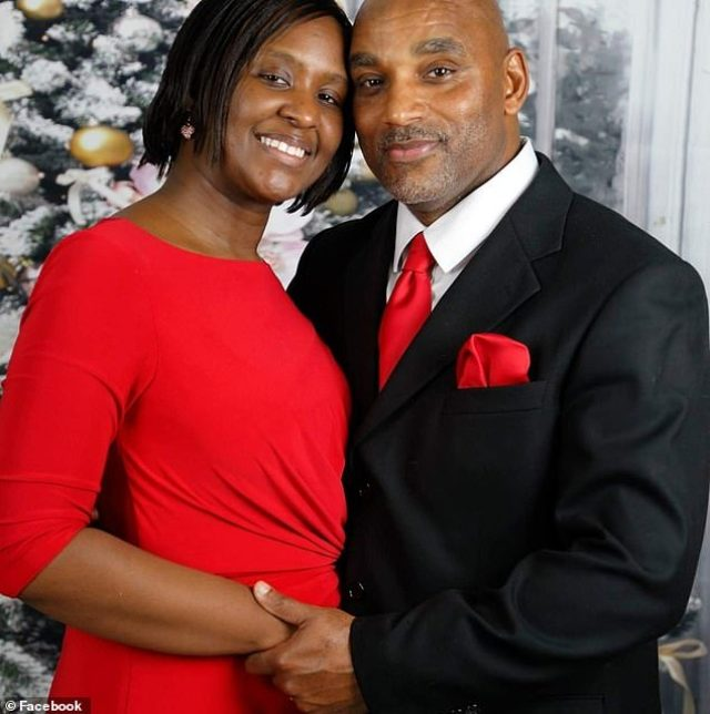 Wartena Somerville (pictured with husband, Michael) was among the four victims of the accident, which occurred Tuesday night as the church van was turning into a parking lot