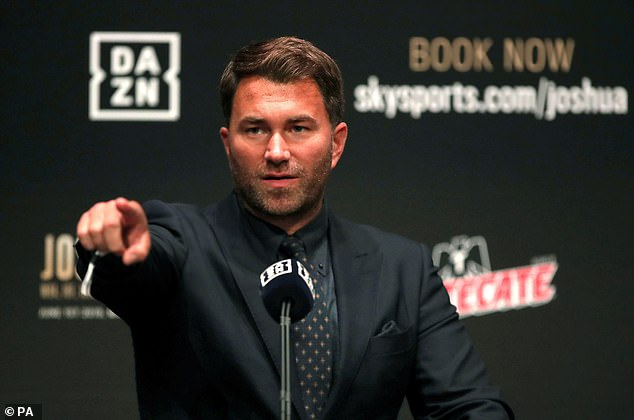 Hearn is confident that if Parker wins all three bouts, he could get another shot at Joshua
