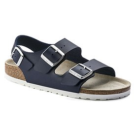 The best feature of the Birkenstock sandal (pictured) is the firm, cork sole that is moulded to fit the shape of your foot