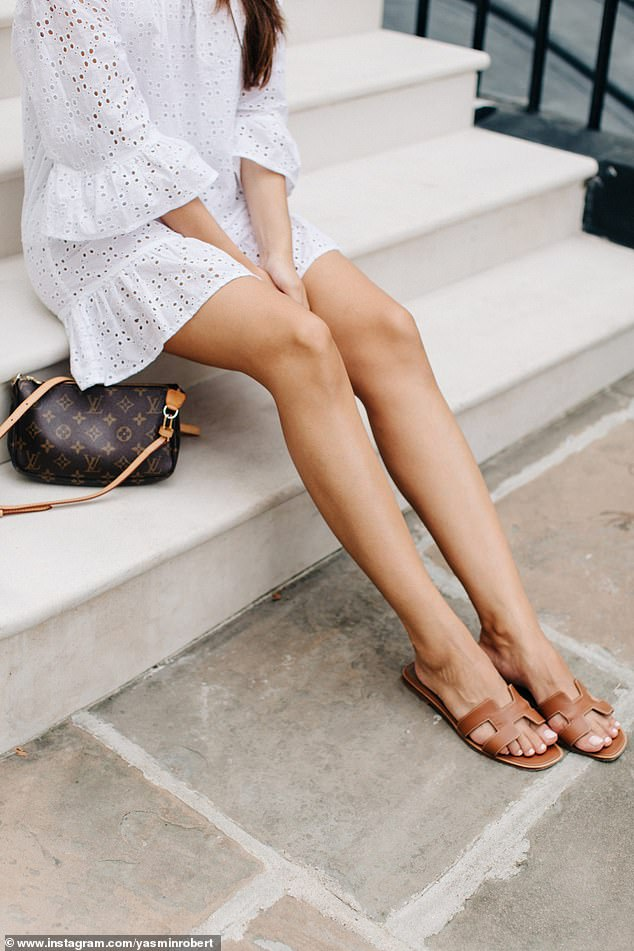 While the Hermes sandal (pictured), and budget-friendly versions of it are popular - the main issue for wearers is the heel and ankle which is largely unsupported ¿ a recipe for pain and injury ¿because the foot slides around easily¿
