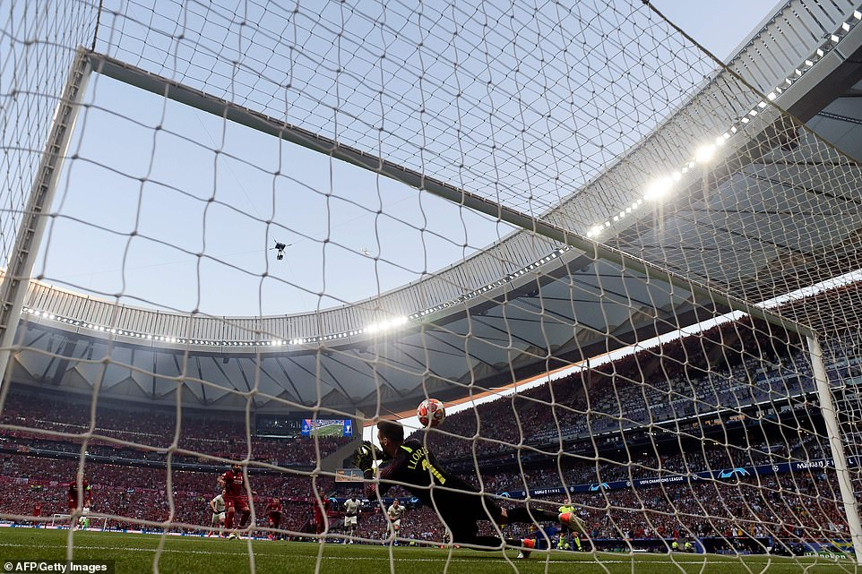 Fans barely had time to take their seats at the Wanda Metropolitano before Salah struck for Jurgen Klopp's Liverpool