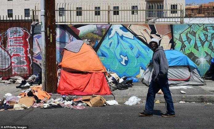 "But the decision not to cap the total number of properties that homeless people can keep may provoke fury among some officials who say it will only ""perpetuate the public health crisis that already exists at Skid Row""."