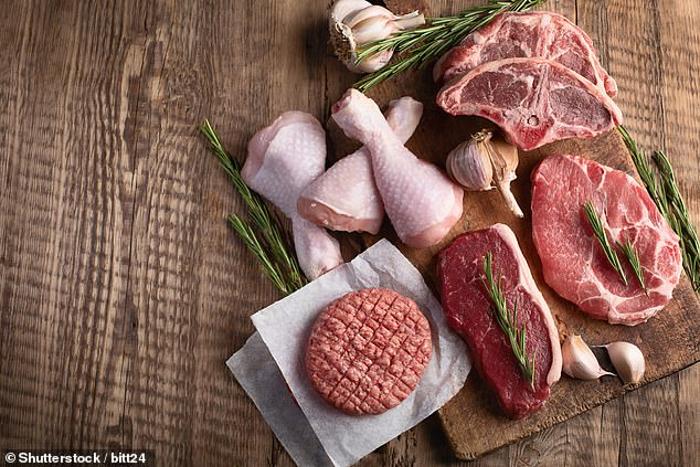Eating chicken and other white meats is just as bad for your heart as a diet rich in red meats such as beef lamb and pork, warns new research