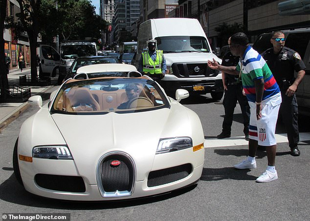 Any lasting damage to the $2 million supercar is likely to cost Morgan a hefty bounty