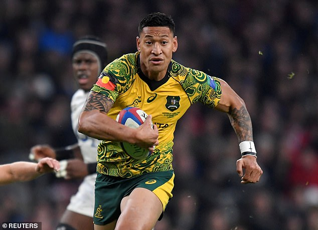 Israel Folau has launched legal action against Rugby Australia and club side the Waratahs