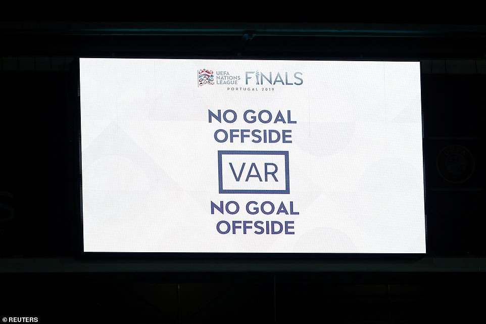 However, after a check from VAR, Lingard's goal was correctly ruled out for offside with eight minutes left