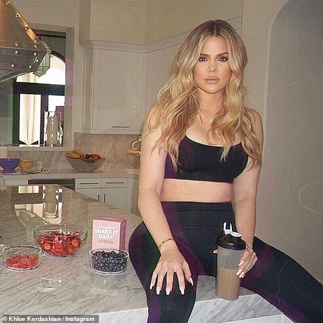 Hitting out: Their jaunt comes after Vogue blasted Khloe Kardashian for promoting diet shakes on social media and branded the US star's decision as 'dumb and dangerous'