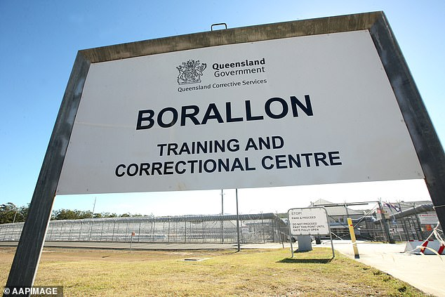 A man has been charged with murder over the death of a man at Borallon Training and Correctional Centre (pictured), which is 60 kilometres west of Brisbane