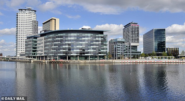 Pictured:BBC Media City UK Development at Salford Quays, Salford, Greater Manchester