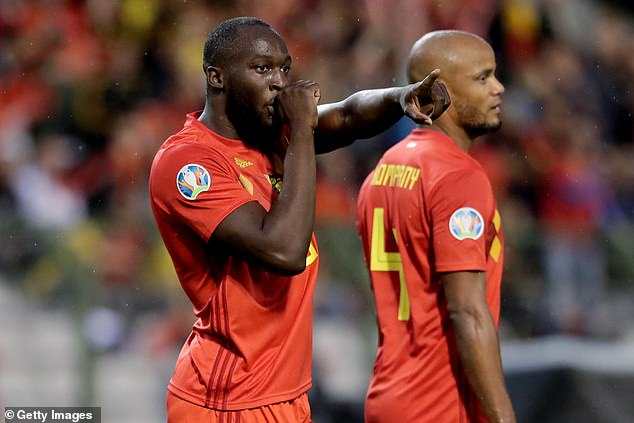 Lukaku went on to score a brace for Belgium but he was still criticised by football fans
