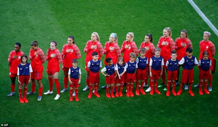 Soccer star Megan Rapinoe (far right) What is the only player in the US women's soccer team?