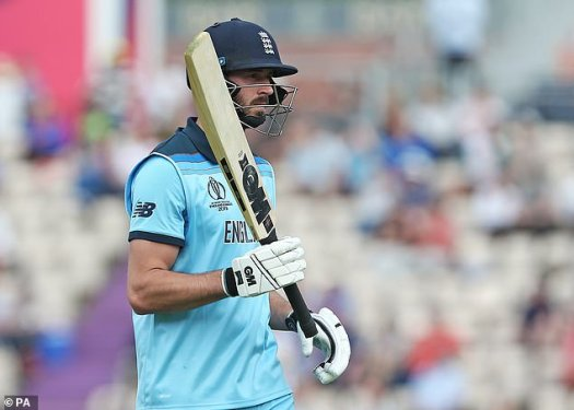 James Vince in line for World Cup debut against ...