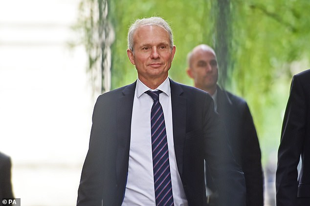 Mr Lidington is a close supporter of Mrs May and backed Matt Hancock in the first round