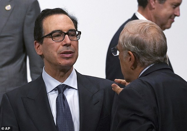 Treasury Secretary Steven Mnuchin also attended the White House meeting with Kushner