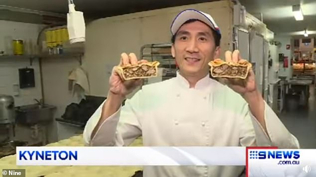 Head baker Ryan Khun (pictured), who runs the family bakery with his brother,said they spent up to three months creating the tasty flavour, inspired by their Cambodian cuisines