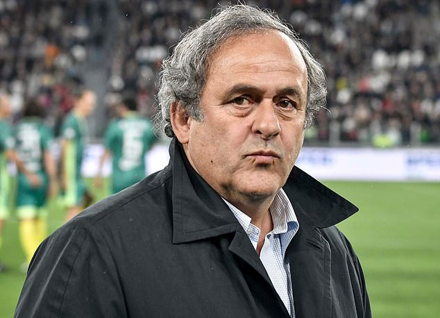 Platini was reportedly taken to the premises of the Anti-Corruption Office of the Judicial Police