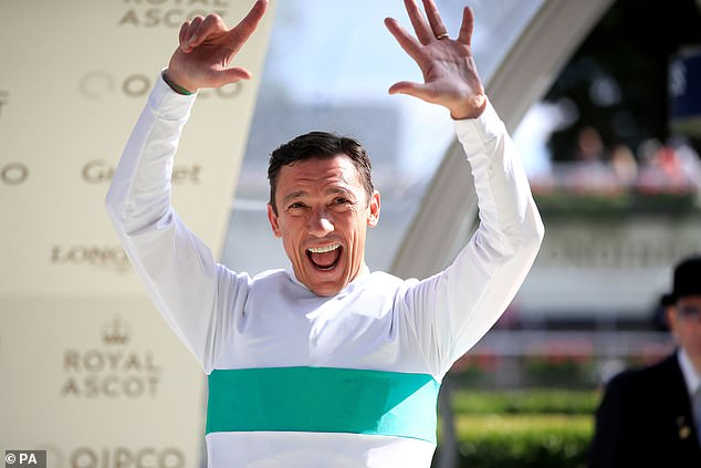Neither 48-year-old Dettori nor Ryan Moore had a winner on day five of the meeting