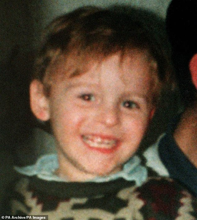 Earlier this year it was revealed that the legal secret of the UK taxpayers £ 65,000. Pictured is James Bulger