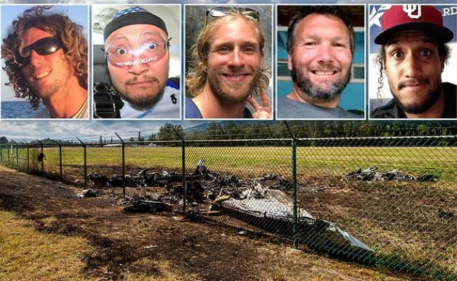 Names Of Five Of The 11 People Killed On Board A Skydiving