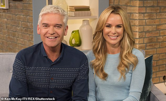 Feuding: This isn't the first time Phillip's alleged feuds have hit the headlines, but Amanda Holden is the only star to have spoken publicly about it