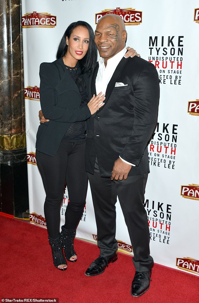 Mike Tyson And His Wife