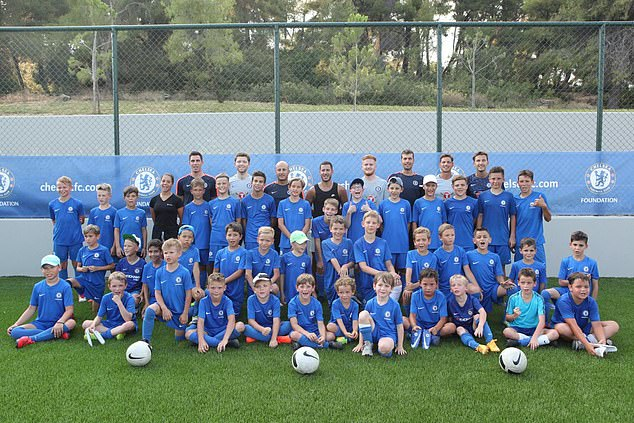 The training camp in Greece is in association with Chelsea FC and designed to help youngsters Hazard back among Blues as he visits Chelsea Hazard back among Blues as he visits Chelsea 15324394 7187763 image a 14 1561633354950