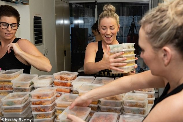 'It's amazing what you can achieve with a bit of planning and preparation. You can actually save lots of money by buying in bulk and batch cooking,' Kaitie said
