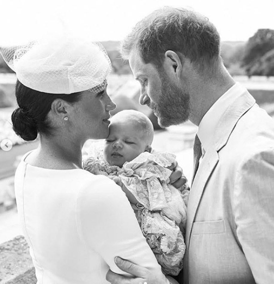 The Duchess of Sussex is putting her own stamp on royal photos by releasing them in black and white, an expert explained. Harry and Meghan released this beautiful black and white family photo to celebrate their son's christening