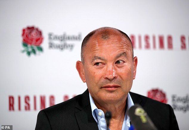 15711642 7219997 Eddie Jones s men were told to think it but don t say it after b a 4 1562446327737 - England's rugby stars told to 'think it but don't say it' during social media seminar