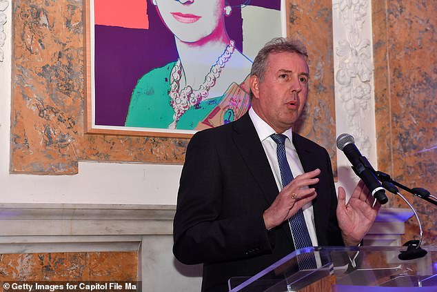Sir Kim Darroch (pictured), one of Britain's top diplomats, used secret cables and briefing notes to impugn Trump's character, warning London that the White House was 'uniquely dysfunctional' and that the President's career could end in 'disgrace'