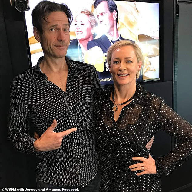 Last loss: Kyle And Jackie O lost their ratings crown for the first time in three years in August 2018 to WSFM breakfast with Brendan 'Jonesy' Jones and Amanda Keller. Both pictured