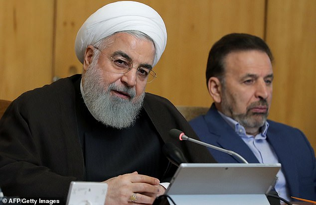 Iranian President Hassan Rouhani warned earlier on Wednesday that Britain would 'face consequences' for detaining an Iranian tanker near Gibraltar