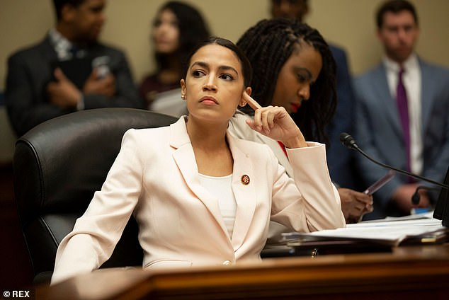 Ocasio-Cortez accused Congress of using women and minority groups as & # 39; negotiating chips & # 39; for decades, during which they were auctioned and sold for their own political gain