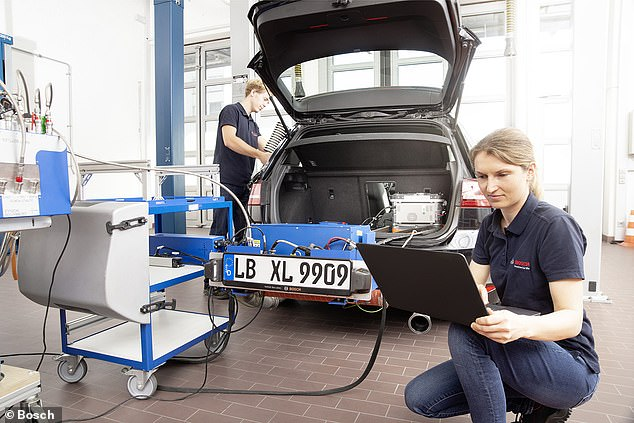 When fitted to current diesel cars, emissions of harmful NOx can be lowered well below the legal threshold for new models that comes into force next year