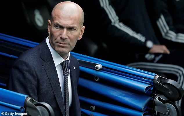 Zinedine Zidane has left Real Madrid's pre-season camp in Montreal on Friday afternoon