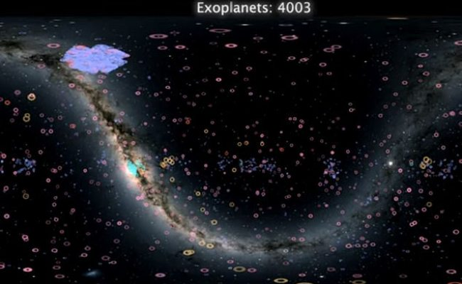Stunning Video Maps Out All Of The 4 000 Exoplanets