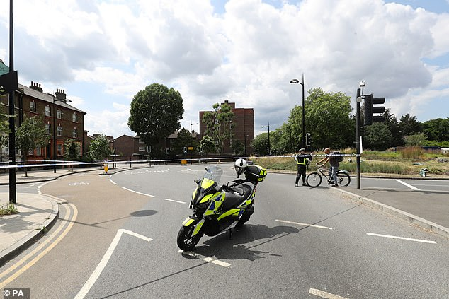 The crash happened at Queen's Circus roundabout, which has been the scene of other fatal incidents involving trucks and vulnerable road users