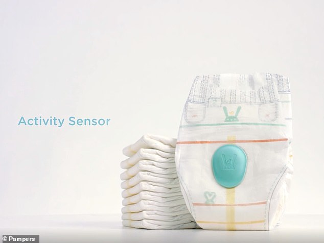 'Lumi' the latest invention from the firm in a bid to make the lives of babies and parents easier and uses a range of sensors to monitor infants to detect and moisture in their nappy