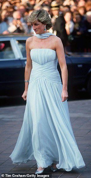 Princess Diana At The Cannes Film Festival, France, 1987