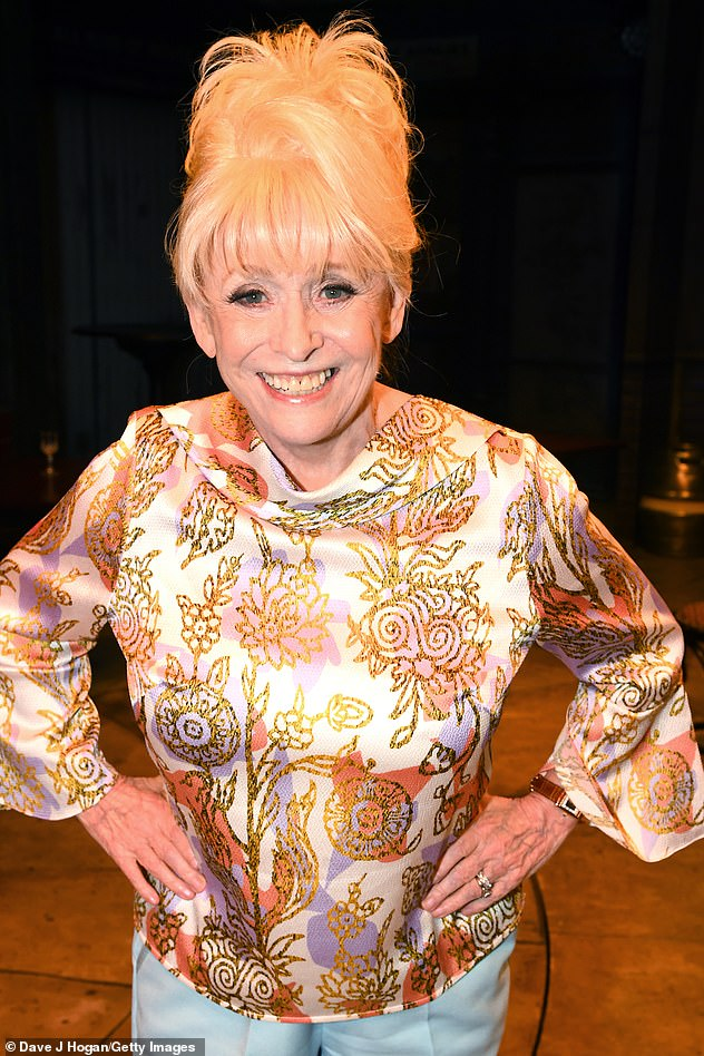 New report: Dame Barbara was 'tap dancing, singing and entertaining' guests at a wake amid her dementia battle, according to close friend Christopher Biggins (pictured in April)