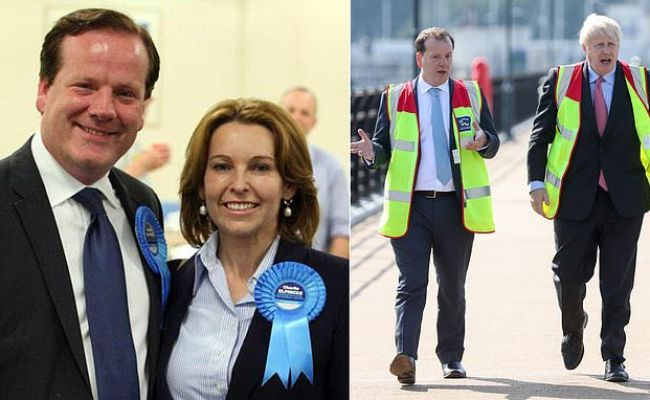 Charlie Elphicke Tory Mp For Dover Charged With Three