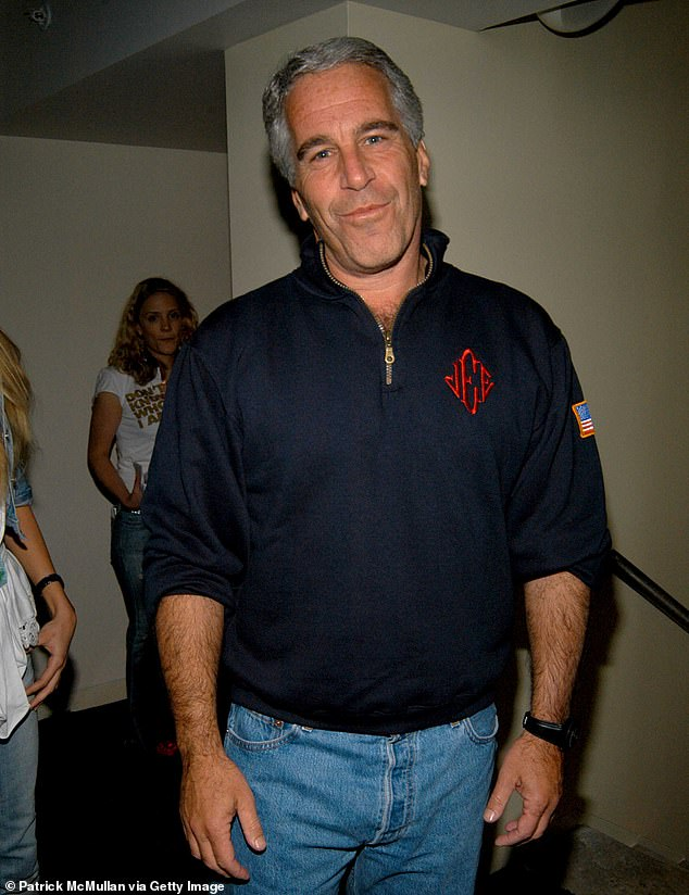 Epstein had pleaded not guilty to charges of sex trafficking involving dozens of underage girlsfrom at least 2002 to 2005. He is pictured in 2005