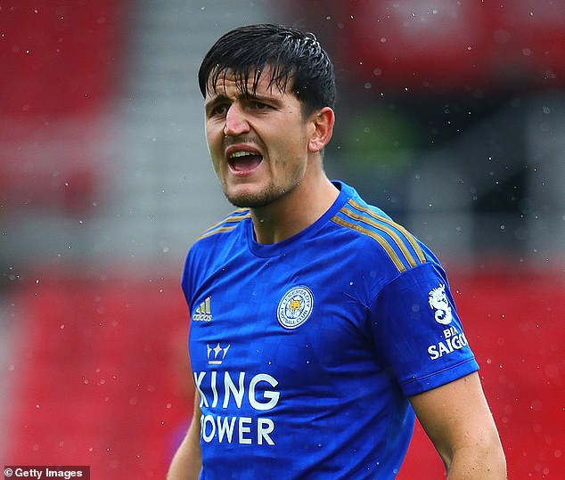 Harry Maguire called in sick for Leicester training on Monday amid Manchester United interest