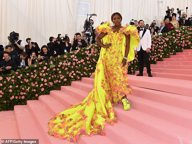 Working the pink carpet: The star arrives for the 2019 Met Gala at the Metropolitan Museum of Art in May