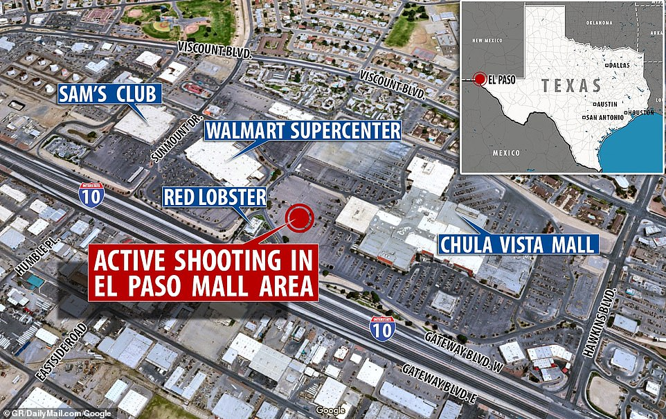 A number of local businesses, stores, shops, and restaurants were placed on lock down during the shooting