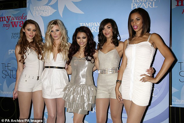 Past: Frankie has spoken openly about her mental health, and in the past revealed she suffered a breakdown during the height of her singing career with The Saturdays (pictured in 2009)