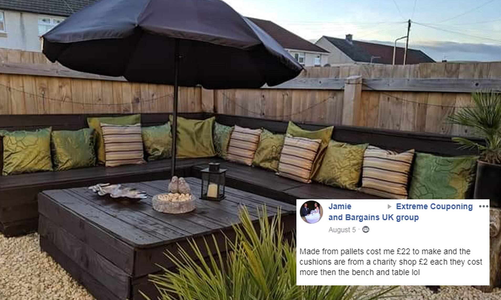 mother shares stunning outdoor corner