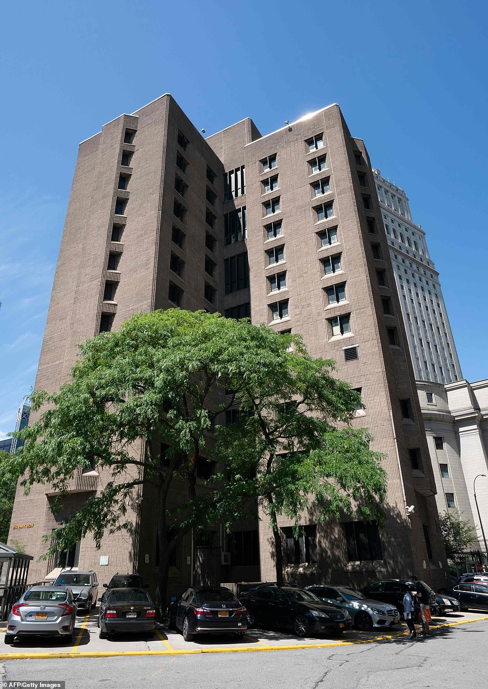 Epstein was being held without bail at Manhattan's Metropolitan Correctional Center on charges of conspiracy and sex trafficking